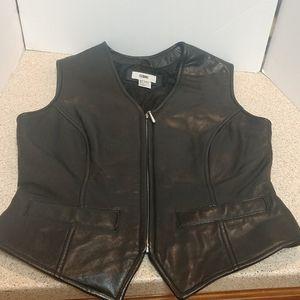 Nordstrom BP Lambskin Leather Vest Size Medium